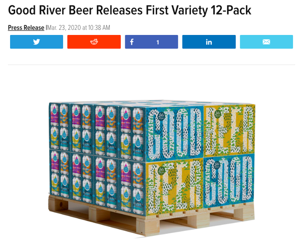 Good River Beer Releases First Variety 12-Pack